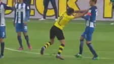 Emre Mor Kırmızı Kart Gördü - Borussia Dortmund-Hertha Berlin (14 Ekim 2016)