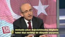 Mehmet Şimşek'in  Karşısında Yandaş Olmayan Gazeteci Görünce Afallaması