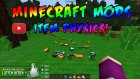 MİNECRAFT İTEM ATMA MODU !  (ITEM PHYSICS MOD !) +800 Likes!