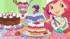 Pastelería de Tarta de Fresa | Pequeños Pastelitos | Çizgi Film Dünyası