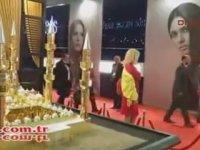 Çamlıca Camii'nin Altın Minyatürü