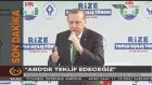 Cumhurbaşkanı Erdoğan'dan Irak Hükümetine Rest