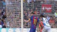 Lionel Messi'nın Deportivo La Coruna'ya attığı gol