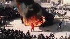 SAHTE KABE ÇADIRI YANDI İRANLI HİZBULLAT MUT-A ÇOCUĞU KAFİR Şİ-A KÖPEKLERİ HERYERDE ŞİRK KOŞUYOR