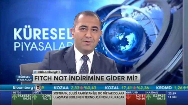 14.10.2016 - Bloomberg HT - Küresel Piyasalar - Araştırma Müdürü Dr. Tuğberk Çitilci
