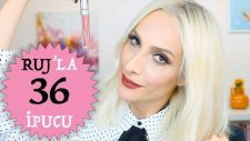 Bilmeniz Gereken 36 Ruj İpucu | 36 Lipstick Hacks You Need To Know | Sebile Ölmez