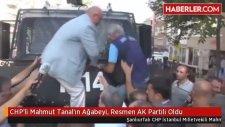 CHP'li Mahmut Tanal'ın Ağabeyi, Resmen AK Partili Oldu