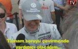 Dilara Gönder'in Michael Schumacher ile Keyifli Diyaloğu