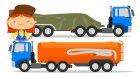 Doktor Mac Wheelie Eğitici Çocuk Çizgi Filmi Türkçe İzle. Dünya'nın En Hızlı Arabası Roket!