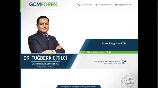 Euro, Draghi ve ECB / Dr. Tuğberk Çitilci / 19 Ekim 2016 Çarşamba