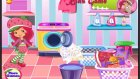 Strawberry Shortcake Washing Clothes Video Game For Girls Kids Game  - Çizgi Film Dünyası
