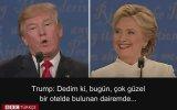 Trump'ın Clinton'a Ahlaksız Bir Kadın Demesi