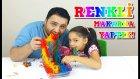 Yenilebilen Renkli Gökkuşağı Makarnalar Yaptık | Rainbow Edible Ramen!