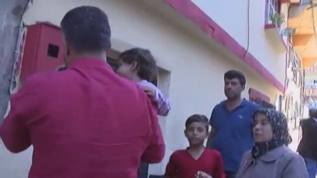 Minik Kübra'nın kaçırılma anı