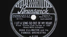 Duke Ellington - I Let A Song Go Out Of My Heart
