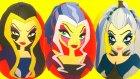 Winx Club Cadıları Trix Icy Stormy Darcy Sürpriz Yumurtaları Bir Arada - Winx Oyuncakları