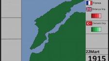 Çanakkale Savaşı - Günü Gününe Harita(1915-1916)
