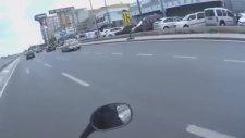 Motosikletin Önüne Kırıp Dayılanmak