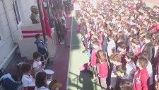 İstiklal Marşı Bayrak Töreni Canlı Çalınıyor Fatih Mektebim Okulu  Handan Bayram