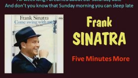 Frank Sinatra - Five Minutes More