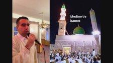 Metin Demirtaş. Medine'de Kamet. İqamah Al salah Madinah Al Munawwarah.
