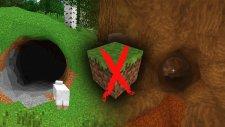 Minecraft Kare Olmasaydı Nasıl Olurdu ?