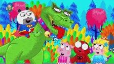 Örümcek Adam ve Süpermen dinazorlara karşı , çizgi film izle , Peppa pig
