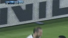 Chiellini'nin Sampdoria'ya attığı kafa golü