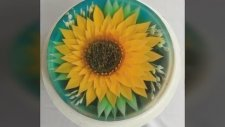 Ajimax 3D Jelly Gelatin Tools Sunflower