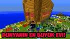 Minecraftta Dev Olup  Dünyanın En Büyük Evini Yaptık!
