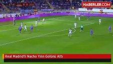 Real Madrid'li Nacho Yılın Golünü Attı