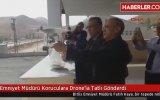 Koruculara Drone ile Tatlı Gönderen Emniyet Müdürü