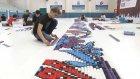 300 bin Domino Taşıyla Dünya Rekoru Denemesi