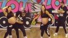Break Dans Yapan Aylık Hamile Kadın