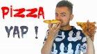 Evde Pizza Nasıl Yapılır Harika Pizza Tarifi ve Yapımı