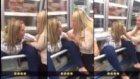 Markette Kadının Düştüğü Zor ve Komik Durum