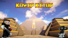 Minecraft | Eğlenceli Lanetli Piramitler | Kayıp Kitap #1 - Ahmet Aga