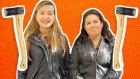 Kızlar Balta ile Odun Kırdı - Güç Gösterisi - Oha Diyorum