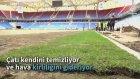Trabzonspor'un Akyazı Stadı'nda Sona Doğru