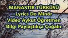Manastırın Ortasında Karaoke Lyrics Do Minör Şarkı Sözü Md Altyapısı Aykut Öğretmen