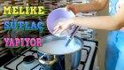 Yoğun İstek Üzerine Sütlaç Yapıtık, Aşcı Melike Mutfakta - Çocuk Videosu