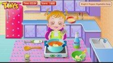 Baby Hazel Games - Bebek Hazel Süpermerkette Ve Yemek Yapıyor! Baby Hazel İn The Kitchen!