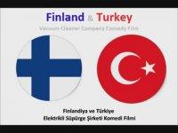 Türk ve Finlandiyalı'nın Süpürge Satışları