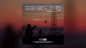 Don Diablo & Steve Aoki X Lush & Simon - What We Started Feat. Bullysongs  - Yabancı Müzik