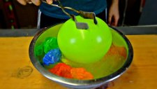 Sıvı Nitrojen İle Balonları Dondurursak Ne Olur?