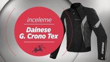 Dainese G. Crono Tex (Sarı) - Motosiklet Mont İncelemesi   season motorcycle jacket