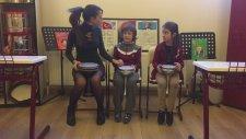 Ritim Çalışması Perküsyon Tekirdağ Mektebim Okulu Müzik Dersi Büşra Gençel