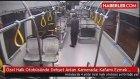 Halk Otobüsü Şoförüne Demirle Saldırdılar
