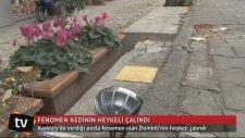 Kadıköy'ün Fenomen Kedisi Dombili'nin Heykelinin Çalınması