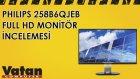 Philips 258B6QJEB Full HD Monitör İncelemesi